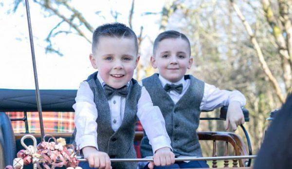 Boys grey herringone Irish tweed waistcoats and bow tie 100 Lambswool Size 1 2 2 3 3 4 4 5 5 6 6 7 8 9 10 11 e1530267370591 Boys Grey Herringbone Irish Tweed Bow-Tie