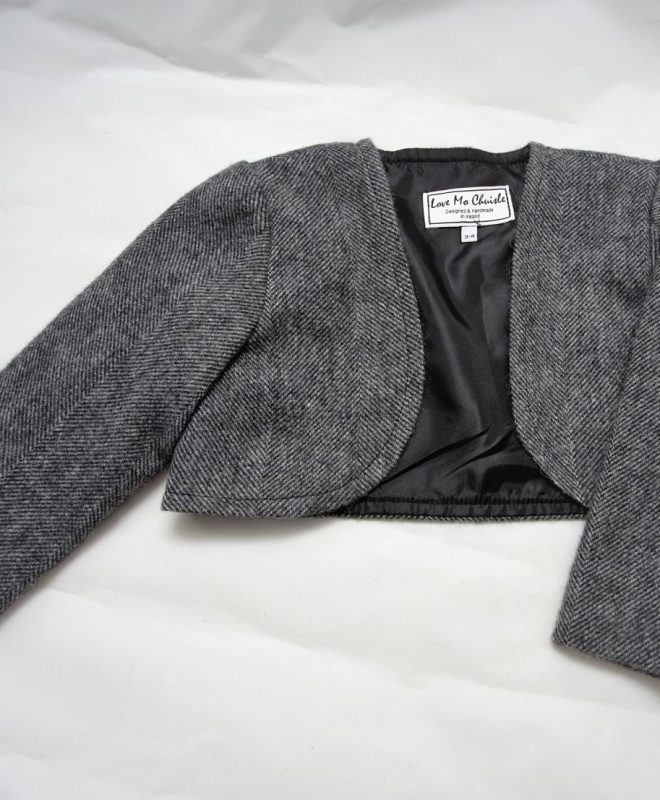 Irish tweed grey herringbone belaro_opt