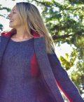 Ladies grey herringbone and rraspberry tweed coat and dress €129 Size XS - XL
