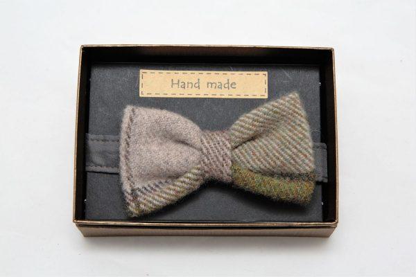 Mens autumn plaid Irish tweed bow tie €39 opt Mens  Irish Tweed Bow-Tie Autumn Plaid