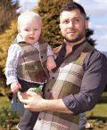 Men's Irish tweed waistcoats.. Irish design