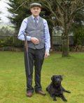 Mens grey herringbone Irish tweed waistcoats €129 with matching tie €55.95 100% Lambswool. Size XS - XXL