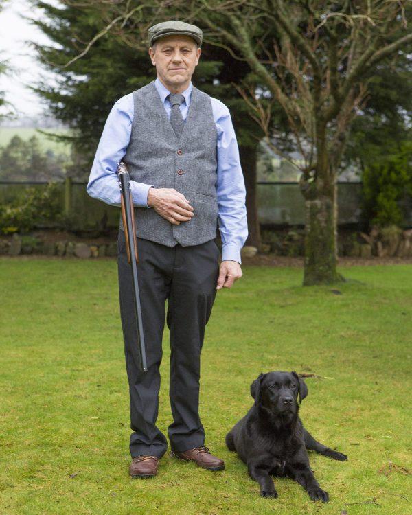 Mens grey herringbone Irish tweed waistcoats €129 with matching tie €55.95 100 Lambswool. Size XS XXL Mens Irish Tweed Grey Herringbone Waistcoat