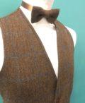 Tweed in the valley mens waistcoat