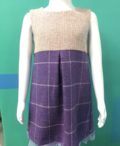 Tweed in the valley purple tweed dress 1