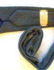 Blue tweed tie