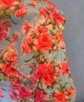 Face mask scarf floral 7