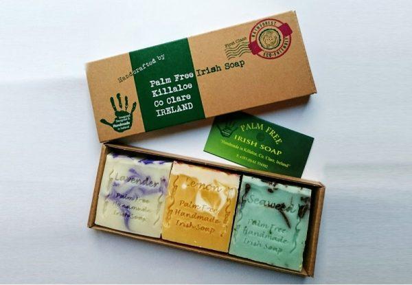 Tweed in the valley Irish handmade soap set €12.95 Irish Handmade Soap Set