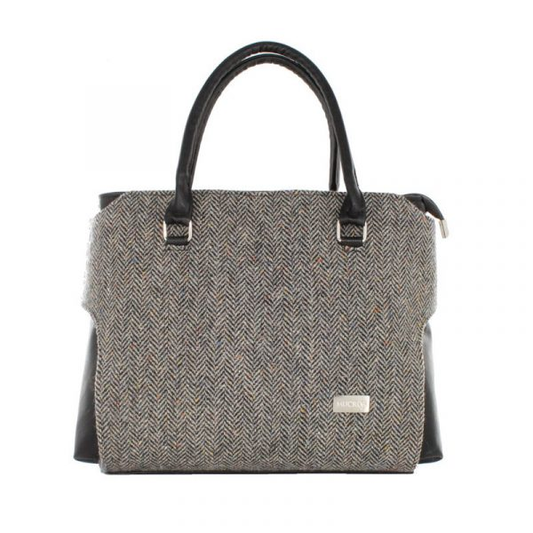 Tweed in the valley Mucros grey speckle bag €98 Mucros Grey Speckle Bag