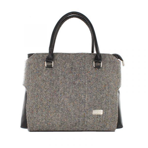 Tweed in the valley Mucros grey speckle bag €98 Mucros Grey Speckle Bag