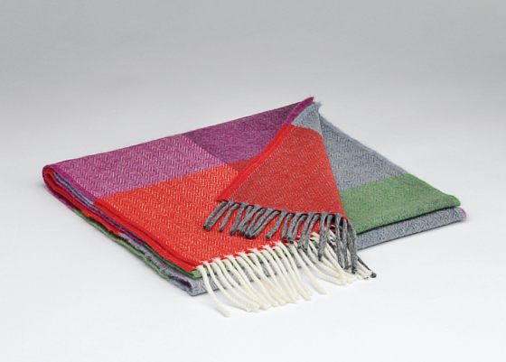 Tweed in the valley lambswool scarf brights Lambswool Scarf Brights