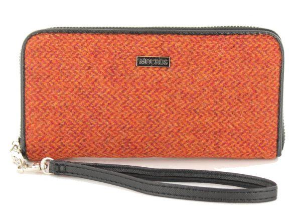 Tweed in the valley mucros tweed purse rust herringbone €39 Mucros Tweed Purse Rust Herringbone