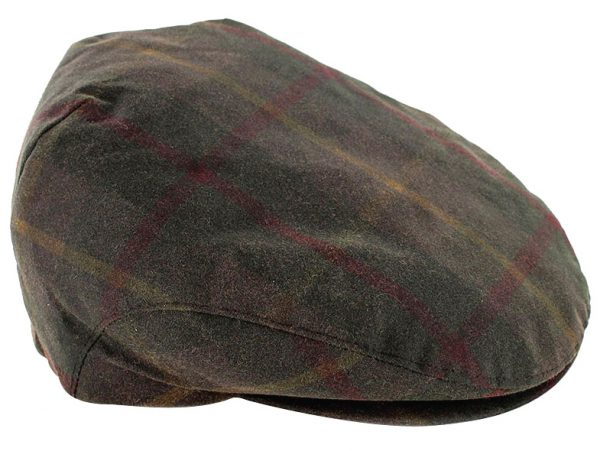 Tweed in the valley trinity wax cap olive plaid €49 Trinity Wax Cap Olive Plaid