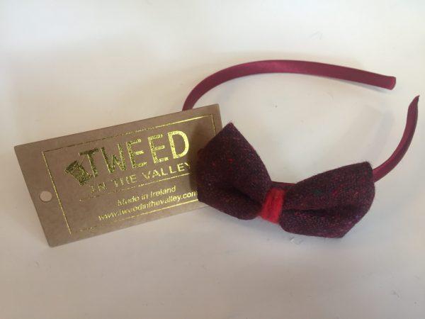 Maroon hairband