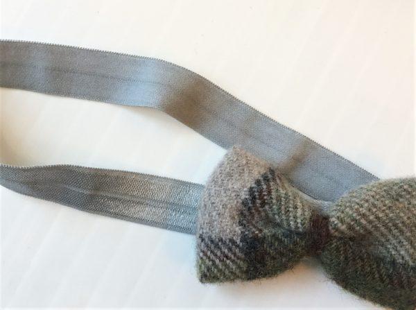 Autumn plaid hairband
